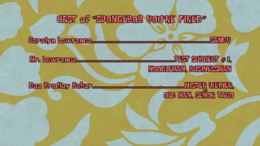 Mister Weiner in SpongeBob You're Fired credits