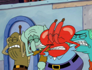 Sandy, SpongeBob, and the Worm 040