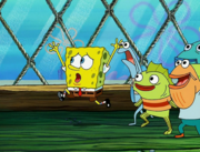 Sandy, SpongeBob, and the Worm 073