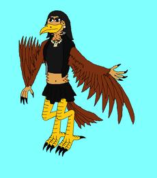 Gwen the Gothy Harpy
