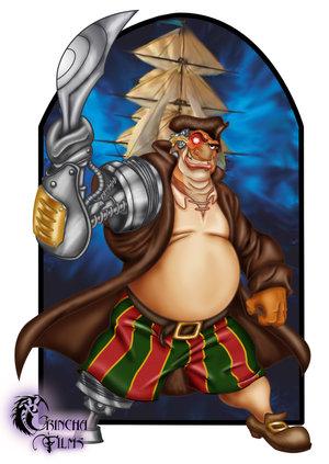 Long John Silver Character