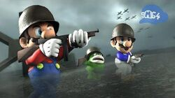 SMG4 World War Mario