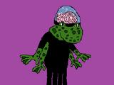 Hank the Mutant Frog