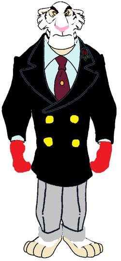 Senator White Ty Ger