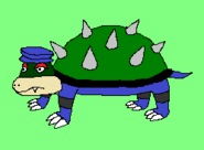 Spikey Turtle (Downtown Pixellania)