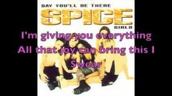 Spice Girls - Say You'll Be There Lyrics