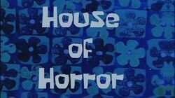 SpongeBob Production Music House of Horror