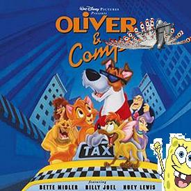 Spongebob and Friends meet Oliver and Company