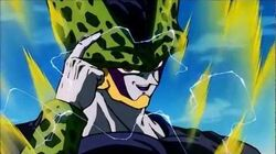 How Cell survived his own explosion (HD) 1080p