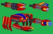 Base Blue Crabbot