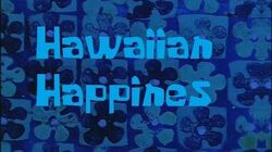 SpongeBob Production Music Hawaiian Happiness