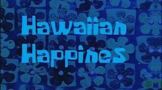 SpongeBob Production Music Hawaiian Happiness