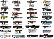 AUU Mega Weapons Gallery