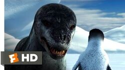 Happy Feet (3 10) Movie CLIP - Leopard Seal Chase (2006) HD