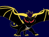 Demon Shadow Spyro