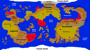 Dragma World Map