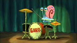 Gary The Snail - Ba Dum Tss (Rimshot)
