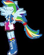 Rainbow Dash (Equestria Girls Ponied Up)