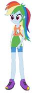 Rainbow Dash (Humanized)