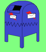 Monster Mail Box