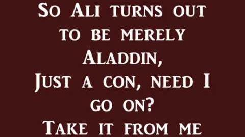 Prince Ali (Reprise)- Aladdin (lyrics)