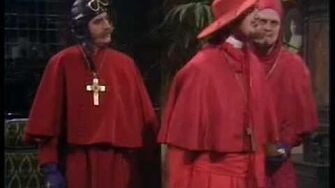 Python No-one expects the Spanish Inquisition