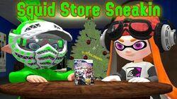Splatoon GMOD Squid Store Sneakin' (GMOD Christmas Special 2018)