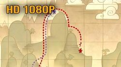 "The Emperor's New Groove - ""The Chase Map Route"" (HD 1080p)"