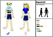 Aquanid Species