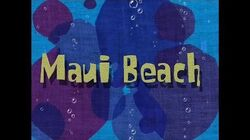 SpongeBob Music Maui Beach