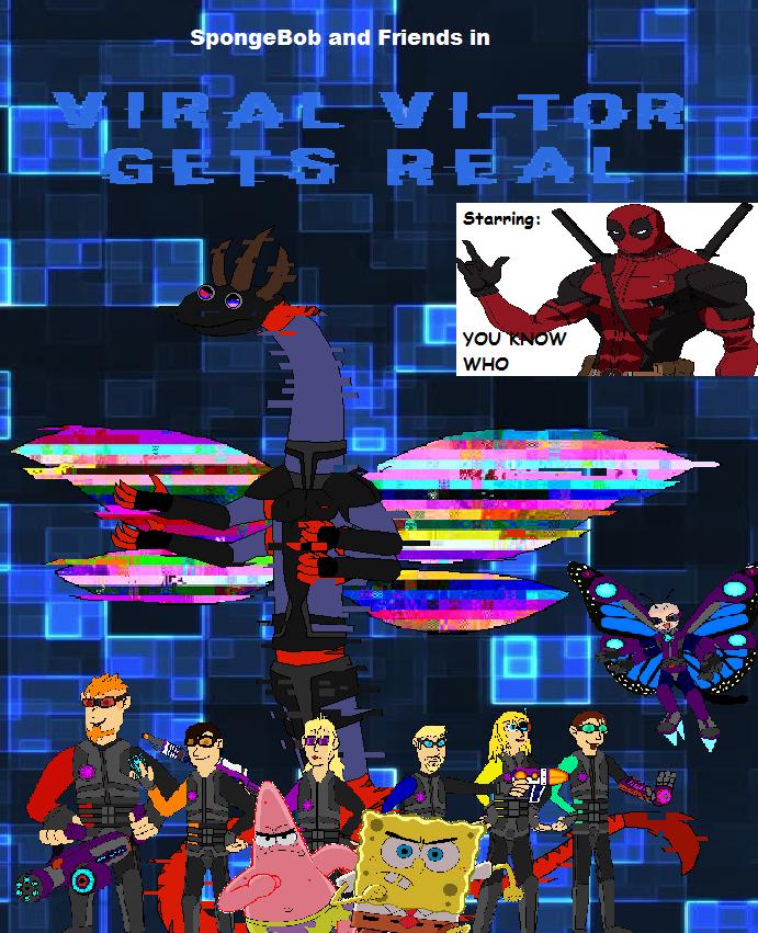 Viral Vi-tor Gets Real   SpongeBob & Friends Adventures Wiki