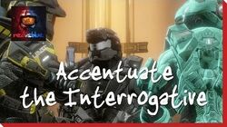 Season 12, Episode 15 - Accentuate the Interrogative Red vs