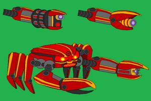 Base Red Crabbot