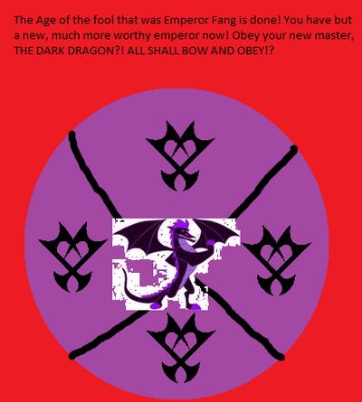 The Dark Dragon Empire Flag