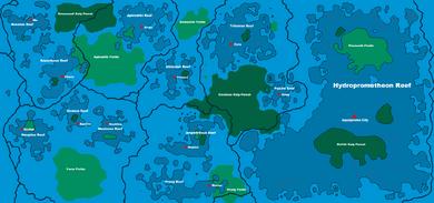 Lagoola World Map