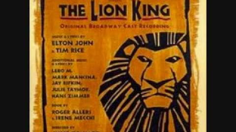 Chow down-The Lion King Broadway(lyrics)