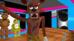 MMD Drop it low -FNAF-
