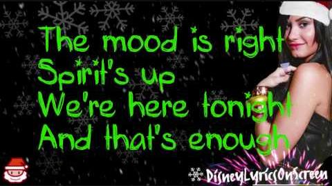 Demi Lovato - Wonderful Christmas Time (Lyrics On Screen) - HD