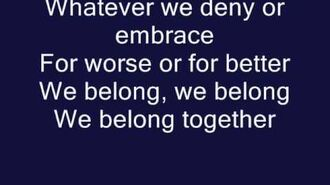 We Belong- Pat Benatar (Official Lyrics)