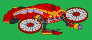 Flying Red Crabbot