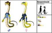 Serpentinoid Species