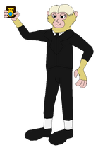 Chris the Interpol Monkey