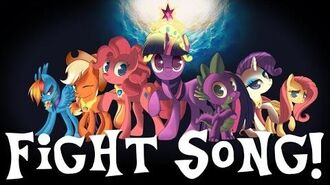 """""""Fight Song"""" (Sung in MLP Voices) PMV"""