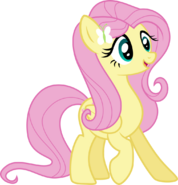Fluttershy (Equestria Girls Ponified)