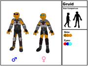 Gruid Species