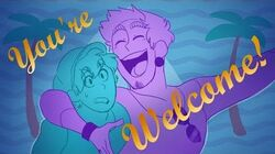 You're Welcome OC Animatic Cover by LucariosKlaw