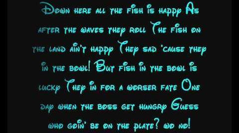 Under The Sea - The Little Mermaid Lyrics