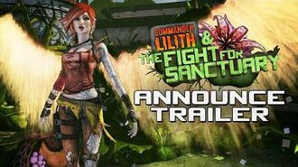 Borderlands 2 Commander Lilith & the Fight for Sanctuary Official Trailer