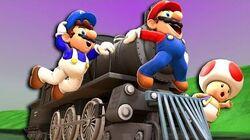 SMG4 Mario's Train Trip