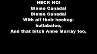 Blame Canada-South Park Lyrics